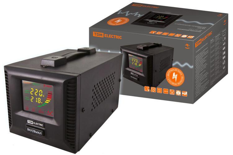 Стабилизатор напряжения СНР1-1-0,5кВА электронный переносной   SQ1201-0001   TDM
