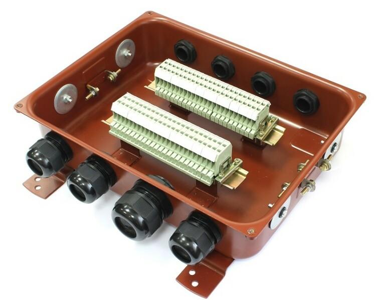 Коробка с зажимами наборными КЗНС-32 У2 IP54 пластиковый ввод | zeta30357 | ЗЭТАРУС (Завод электротехнической арматуры)