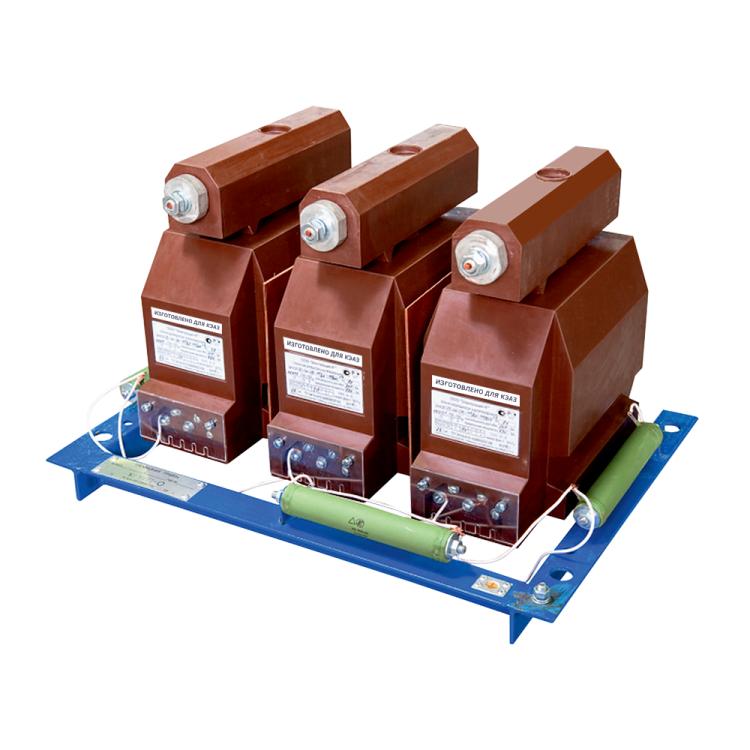 Трансформатор напряжения заземляемый 3хЗНОЛ-ЭК-10-М4Т-6000/?3-100/?3-100/3-0,5/3P-50/200-У3-б | 267840 | КЭАЗ