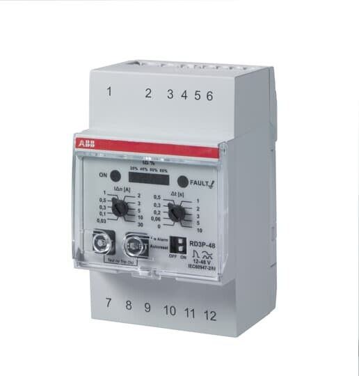 Реле диф.тока RD3P-48   2CSJ203001R0001   ABB
