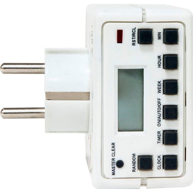 TM21 3500W/16A 230V розетка с таймером (недельная) | 23215 | FERON