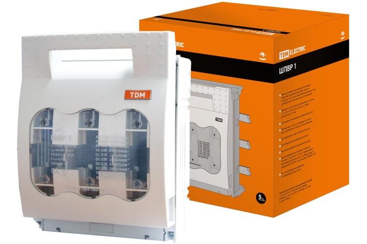 Шинный выключатель-разъединитель с функцией защиты ШПВР 1 3П 250A | SQ0726-0006 | TDM