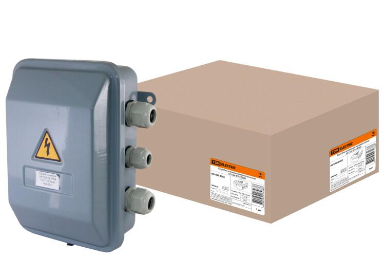 Коробка клеммная металлическая У615М IP54 | SQ1406-0002 | TDM