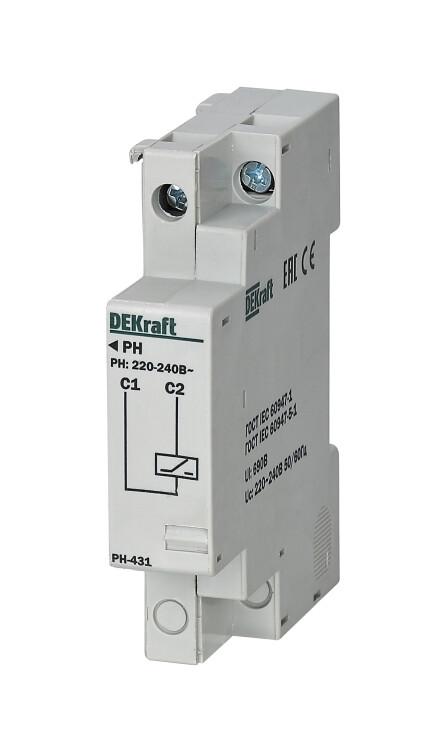 Расцепитель независимый 380-400В для ВА-431 | 21266DEK | DEKraft
