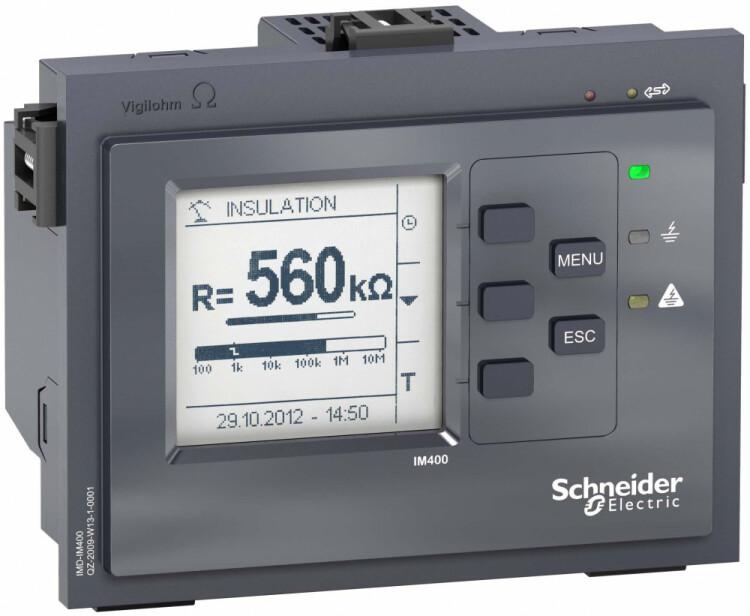Устр-во контроля изоляции IM400 | IMD-IM400 | Schneider Electric