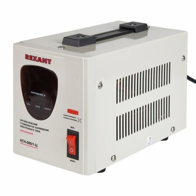 Стабилизатор напряжения AСН-500/1-Ц   11-5000   REXANT