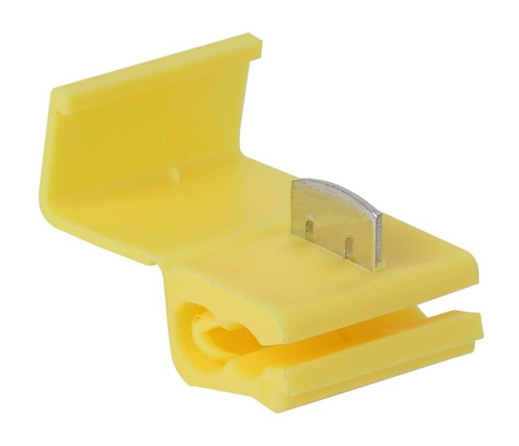 ЭРА Ответвитель ОВ-3 2,5-6,0 мм2 желтый (50 шт) (50/1600)   Б0038935   ЭРА
