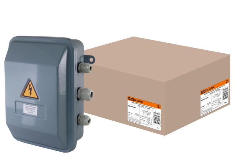 Коробка клеммная металлическая У614М IP54 | SQ1406-0001 | TDM