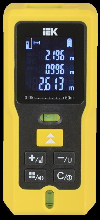 Дальномер лазерный DM60 Professional IEK | TIR21-3-060 | IEK