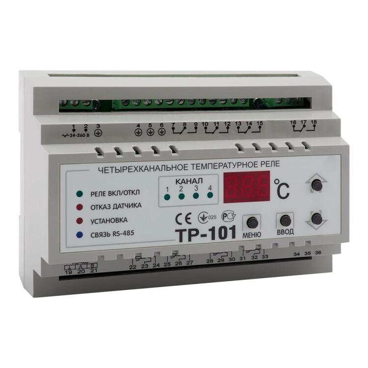 Температурный контроллер OptiDin ТР-101-У3.1 | 114078 | КЭАЗ