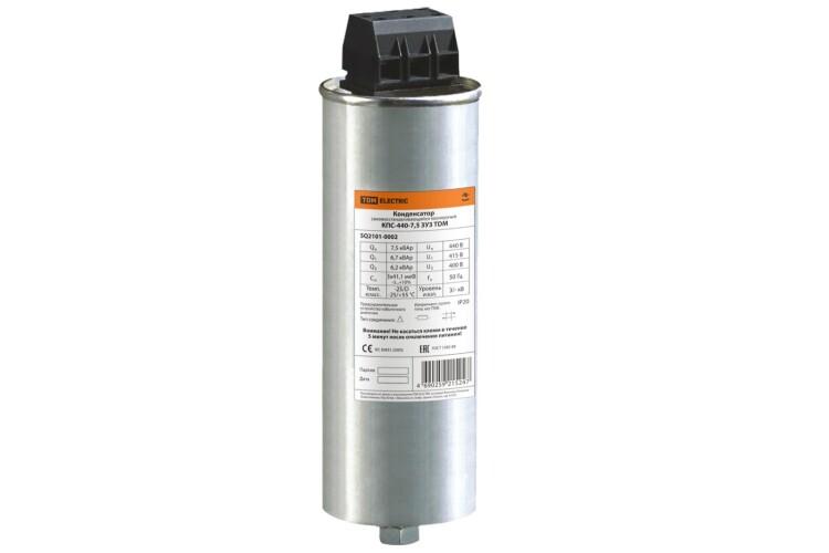 Конденсатор КПС-440-7.5 3У3   SQ2101-0002   TDM