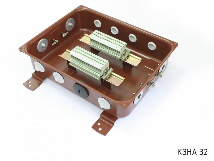 Коробка с зажимами наборными КЗНА-48 У3 IP43 | zeta30313 | ЗЭТАРУС (Завод электротехнической арматуры)