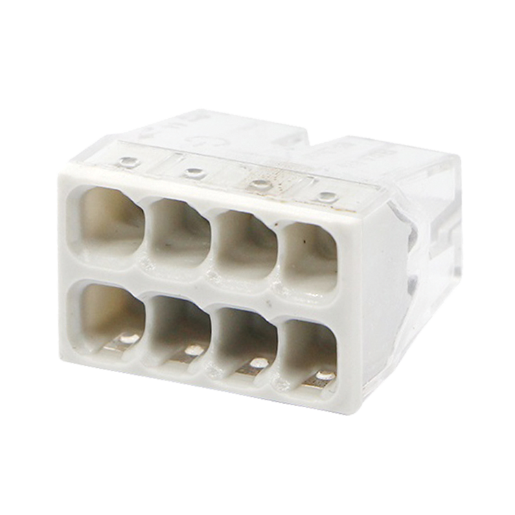 Строительно-монтажная клемма СМК 772-208 (4штук/упаковка)   4690612027395   IN HOME