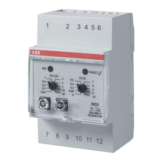 Реле диф.тока RD3M   2CSJ202001R0002   ABB
