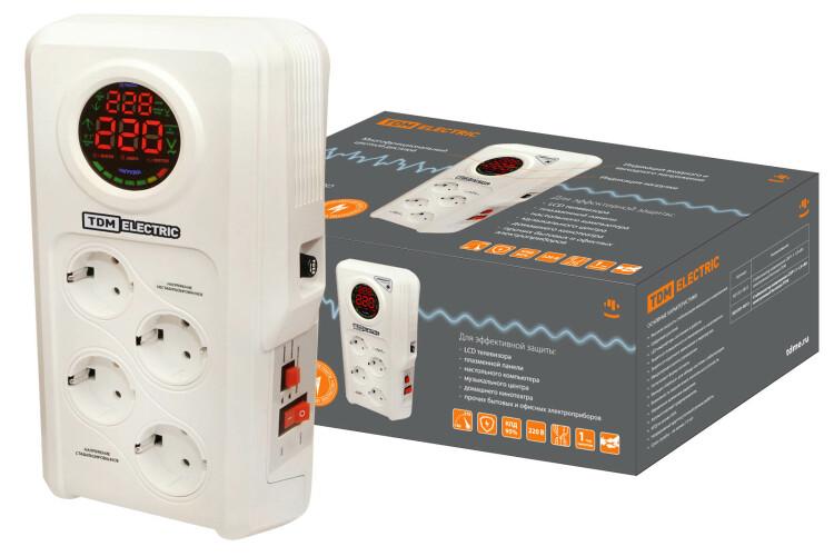 Стабилизатор напряжения СБР1-1-1,5 кВА электронный бытовой   SQ1201-0013   TDM