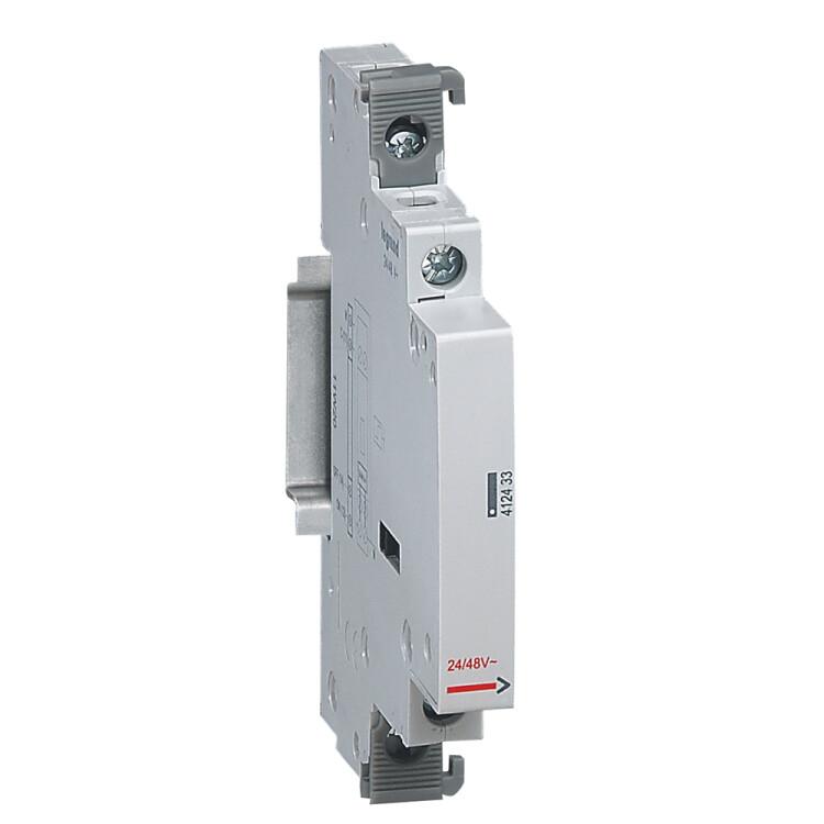 Вспомогательное устройство управления - для группы импульсных реле 24-48 В~ - 0,5 модуля   412433   Legrand