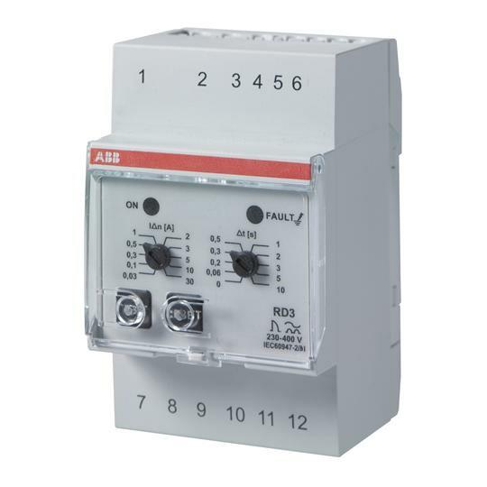 Реле диф.тока RD3   2CSJ201001R0002   ABB