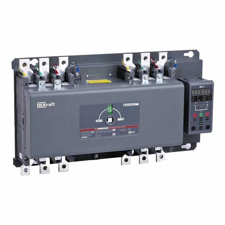 АВР на Автоматический выключатель с выносн. блоком управления 40А, 3Р, 25кА АВР-302   41120DEK   DEKraft