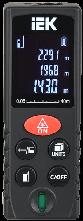 Дальномер лазерный DM40 Professional IEK | TIR21-3-040 | IEK