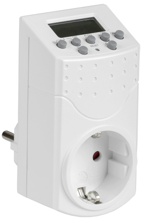 РТЭ-1 Розетка-таймер электр. 1мин 7дн 140on/off 16А IP20 | ERT-10-1-16-N-01-5-20-K01 | IEK