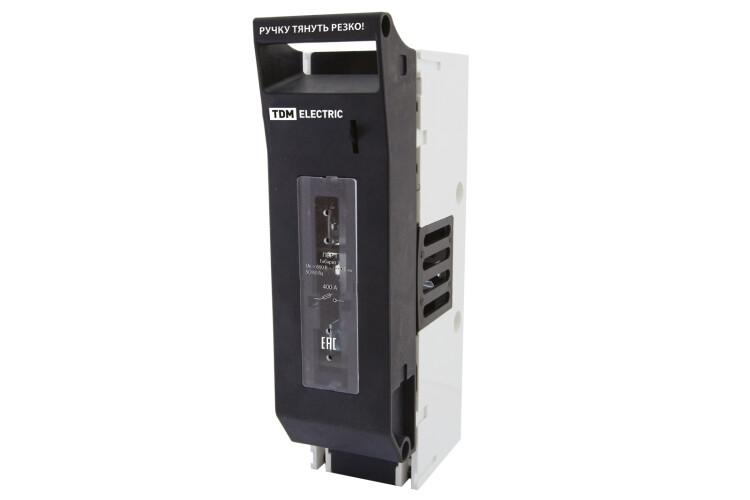 Выключатель-разъединитель с функцией защиты ПВР 2 1П 400A | SQ0726-0103 | TDM