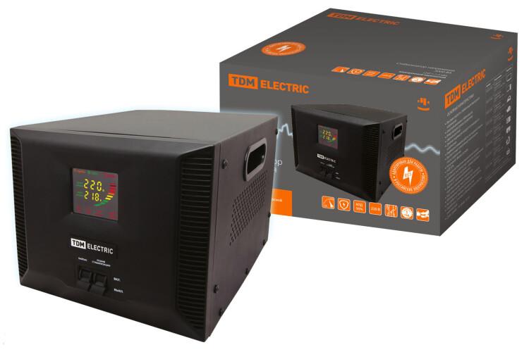 Стабилизатор напряжения СНР1-1-5 кВА электронный переносной   SQ1201-0006   TDM