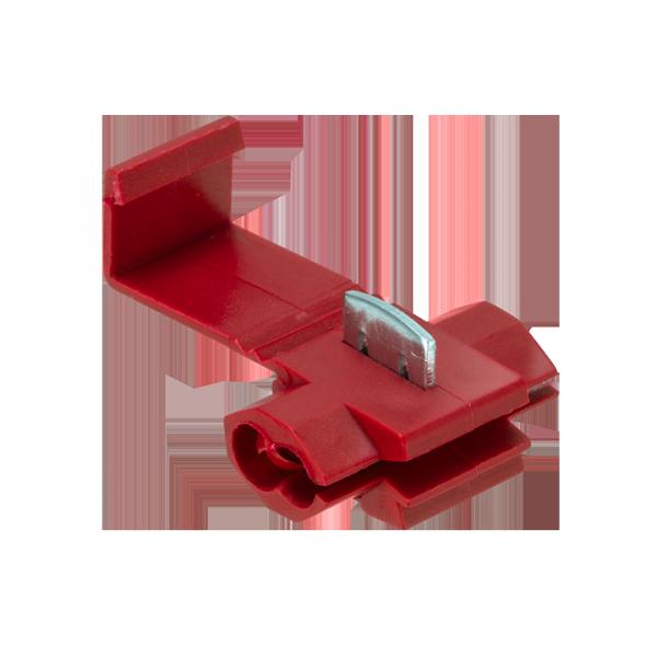 Ответвитель прокалывающий ОВ-1 0,5-1,5 мм2 красный (50шт.) EKF PROxima   plc-ov-0.5-1.5   EKF