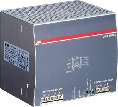 Блок питания трёхфазный CP-T 24/20.0 | 1SVR427056R0000 | ABB