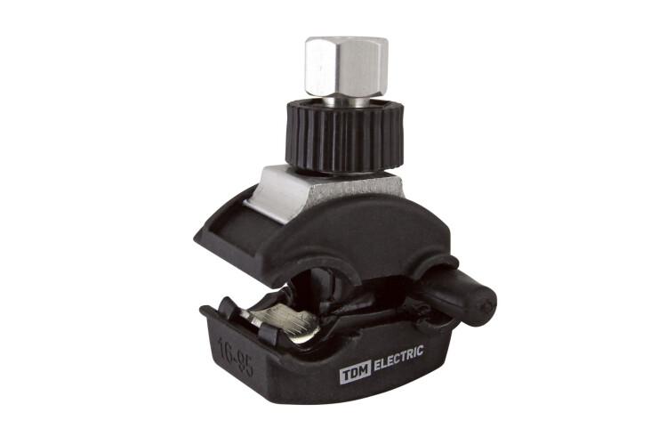 Зажим герметичный для ответвления от неизол. проводника ЗГОНП 16-95/1,5-10 (N616) | SQ0412-0008 | TDM