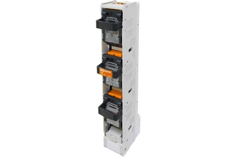 Планочный выключатель-разъединитель с функцией защиты три рукоятки ППВР 3/185-1 3П 630A | SQ0726-0115 | TDM