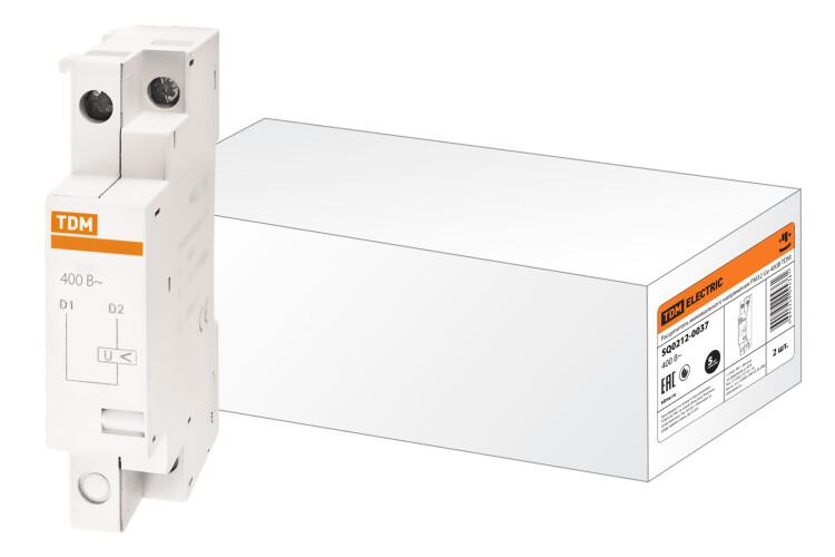 Расцепитель минимального напряжения РМ32 Ue 400В | SQ0212-0037 | TDM