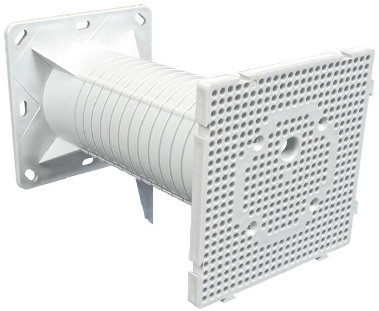Электроуст коробка для фасадов МПФ 120х120х200 | UKO20-120-120-200-K01 | IEK