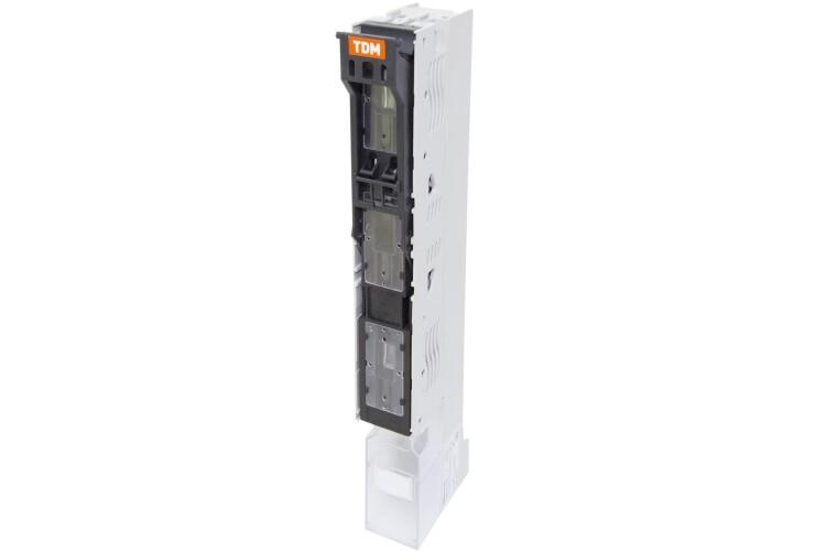 Планочный выключатель-разъединитель с функцией защиты одна рукоятка ППВР 00/100-6 3П 160A | SQ0726-0109 | TDM