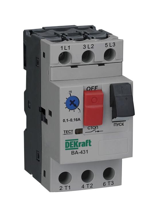 ВА431-0.4A-0.63A авт. выкл. | 21223DEK | DEKraft
