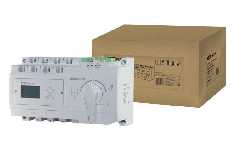 Устройство автоматического ввода резерва АВР-ПНД 4П 250А 380В с дисплеем   SQ0743-0031   TDM