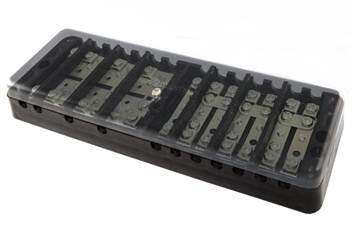 Коробка испытательная переходная ИКП (аналог ИК, ИКК, сталь) с прозр. крышкой   SQ0836-0004   TDM
