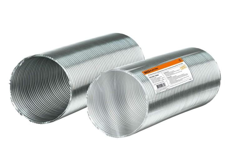 Воздуховод гофрированный алюминиевый ?110 | SQ1807-0065 | TDM