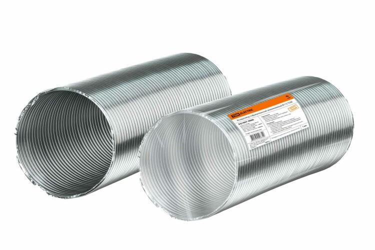 Воздуховод гофрированный алюминиевый ?115 | SQ1807-0066 | TDM