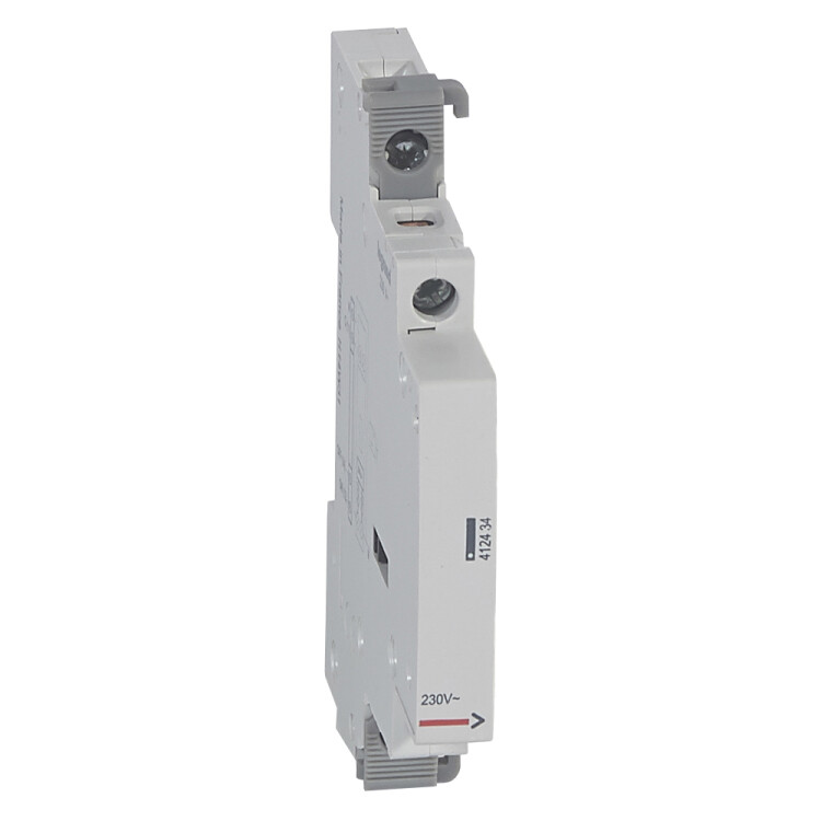 Вспомогательное устройство управления - для группы импульсных реле 230 В~ - 0,5 модуля   412434   Legrand