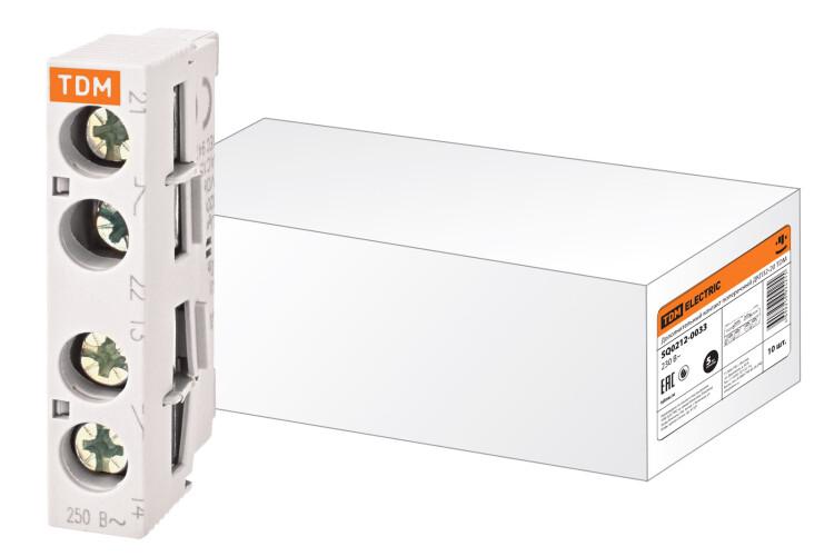 Дополнительный контакт поперечный ДКП32-20 | SQ0212-0033 | TDM