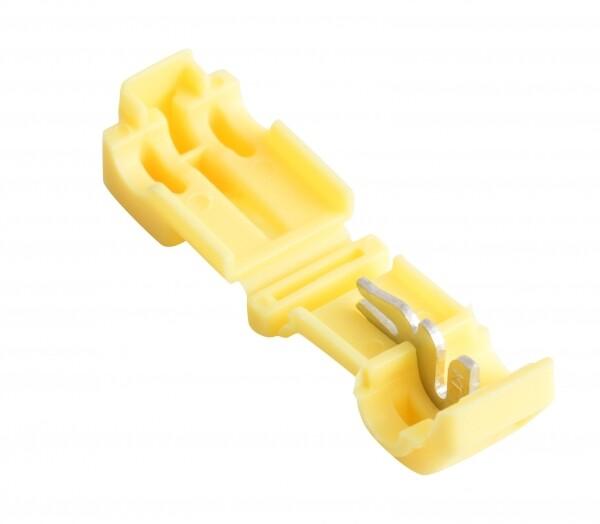 Ответвитель прокалывающий ОВ-Т 3 4.0-6.0 мм2 желтый (50 шт) EKF PROxima   plc-ovt-4.0-6.0   EKF
