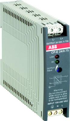 Блок питания CP-E 24/0.75 (регулир. вых. напряж) вход 90-265В AC / 120- 370В DC, выход 24В DC /0.75A | 1SVR427030R0000 | ABB