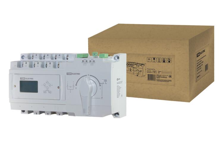 Устройство автоматического ввода резерва АВР-ПНД 4П 125А 380В с дисплеем   SQ0743-0029   TDM