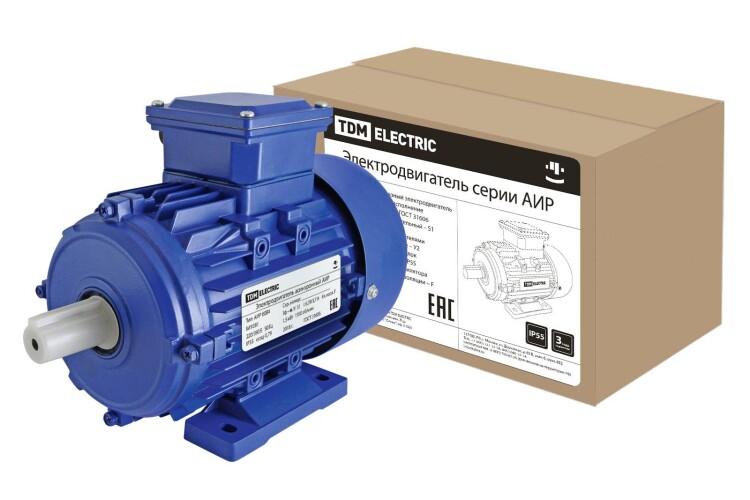 Эл. Двиг. АИР 80B4 1,5 кВт 1500 об/мин 1081 | SQ3001-0021 | TDM