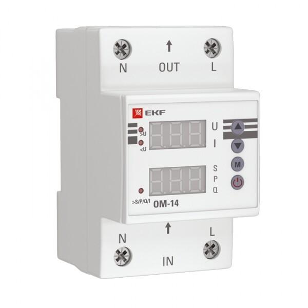 Ограничитель мощности ОМ-14 PROxima   rel-pl-14   EKF