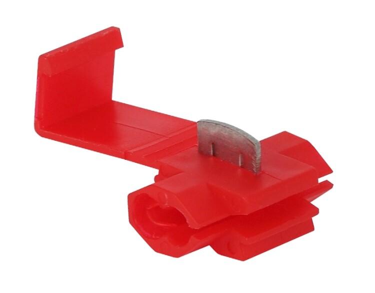 ЭРА Ответвитель ОВ-1 0,5-1,5 мм2 красный (50 шт) (50/2000)   Б0038933   ЭРА