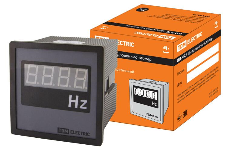 Цифровой частотомер ЦП-Ч72 30-100Гц-0,5 | SQ1102-0509 | TDM