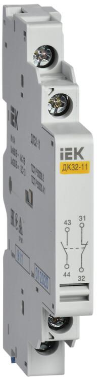 Дополнительный контакт ДК32-11 | DMS11D-AU11 | IEK