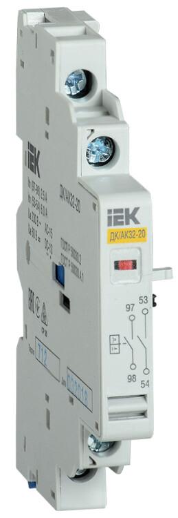Аварийно-дополнительный контакт ДК/АК32-20 | DMS11D-FA20 | IEK