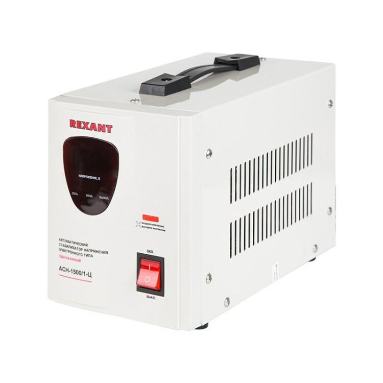 Стабилизатор напряжения AСН-1 500/1-Ц   11-5002   REXANT